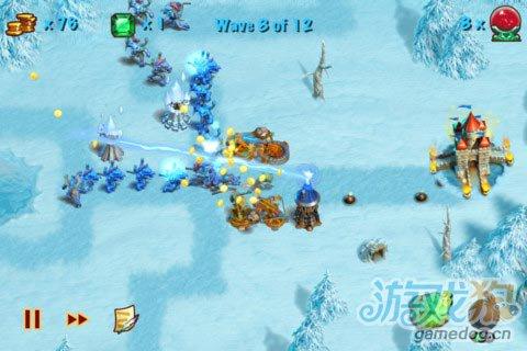 iOS游戏:猎魔之塔Towers N' Trolls HD图2