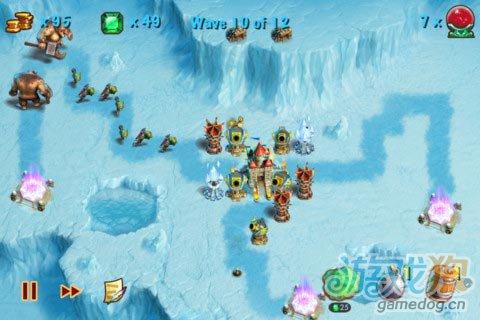 iOS游戏:猎魔之塔Towers N' Trolls HD图4
