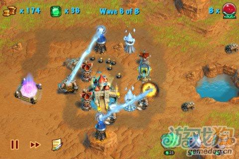 iOS游戏:猎魔之塔Towers N' Trolls HD图3