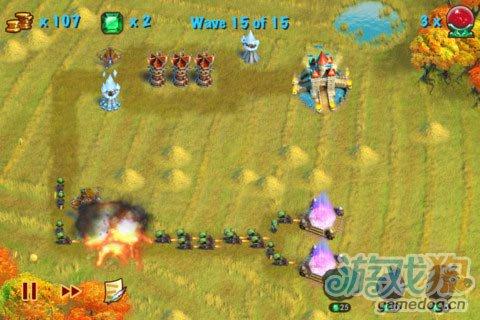 iOS游戏:猎魔之塔Towers N' Trolls HD图5