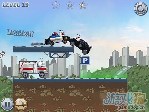 iOS物理益智新游:Car Toons 即将迎来发布2