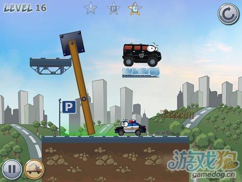 iOS物理益智新游:Car Toons 即将迎来发布3