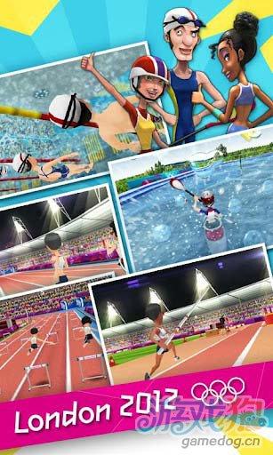 2012年伦敦奥运会官方授权手机游戏登录安卓平台2