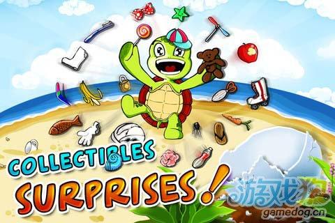 iOS益智休闲游戏:海龟快跑高清版 v1.2更新评测1