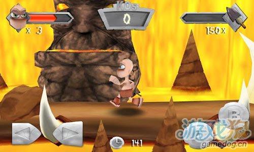 安卓动作游戏:原始人战斗 v1.0.1评测5
