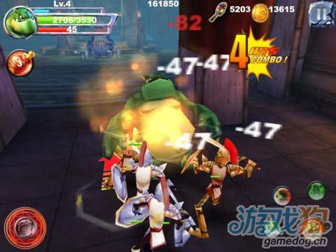 iOS动作游戏:怪物战争Pro版 v1.3更新1