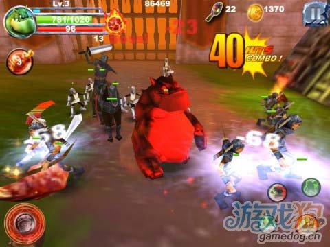 iOS动作游戏:怪物战争Pro版 v1.3更新2