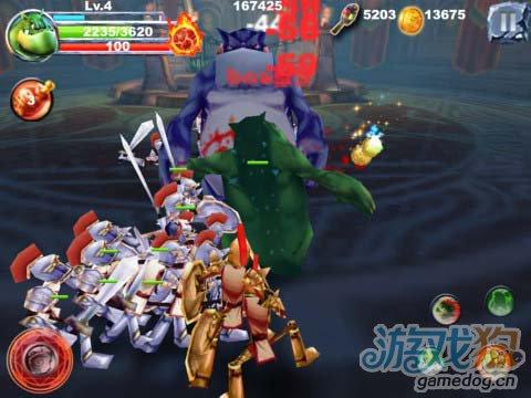 iOS动作游戏:怪物战争Pro版 v1.3更新3