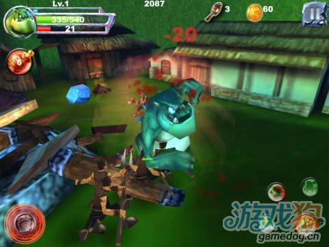 iOS动作游戏:怪物战争Pro版 v1.3更新4