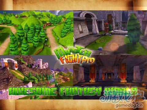 iOS动作游戏:怪物战争Pro版 v1.3更新5