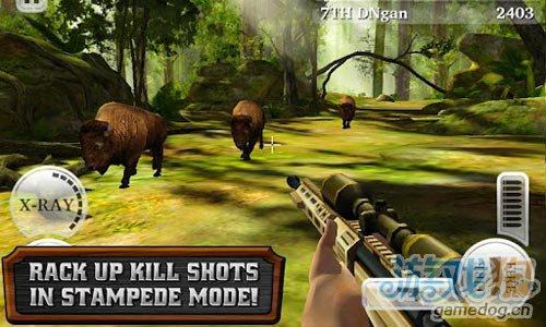 Glu新作登录安卓《猎鹿人重装上阵》实现猎人梦想5