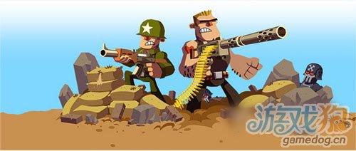 Chillingo新游戏《Platoonz》2D小战争公开1