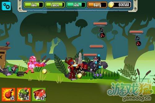 Chillingo新游戏《Platoonz》2D小战争公开2