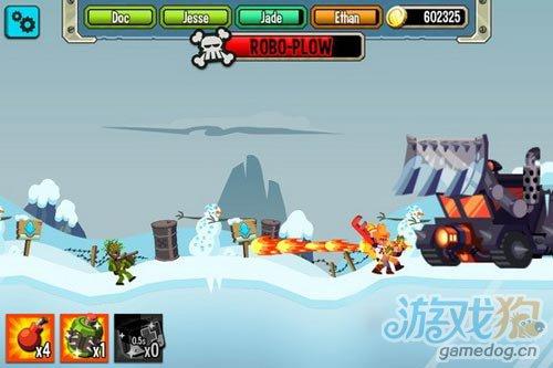 Chillingo新游戏《Platoonz》2D小战争公开5