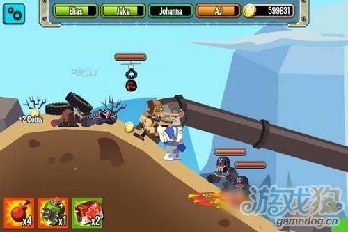 Chillingo新游戏《Platoonz》2D小战争公开6
