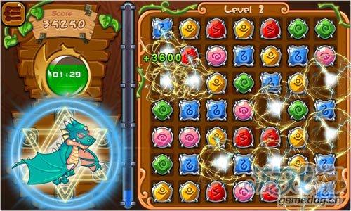 休闲游戏《宝石竞速》局域联机模式对战乐趣无穷2