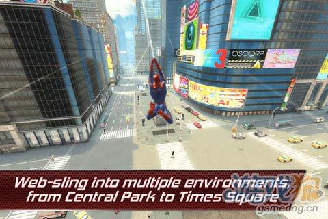 GameLoft大作《超凡蜘蛛侠》安卓版登录1
