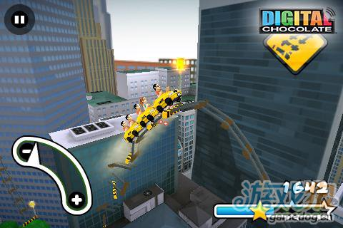 安卓惊险竞速类游戏:纽约疯狂3D过山车 更新评测4