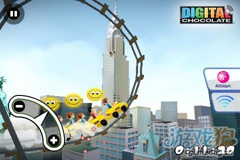 安卓惊险竞速类游戏:纽约疯狂3D过山车 更新评测5