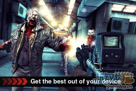 iOS血腥暴力游戏:死亡扳机DEAD TRIGGER新手评测1