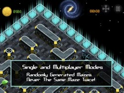 iOS迷宫游戏《奇幻空间 aMAZEing Space!》限免中1