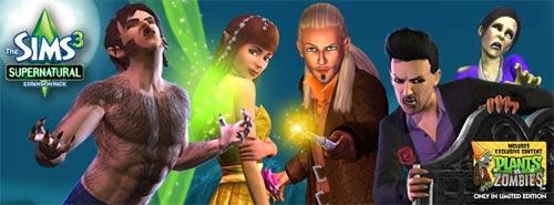 EA大作模拟人生3于9月推新资料片:超自然能量1