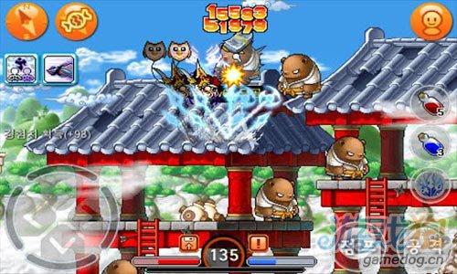 经典PC网络游戏:枫叶冒险岛 登录安卓4