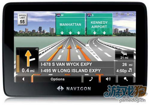 "Navigon新增包含""谷歌街景地图""内若干功能2"