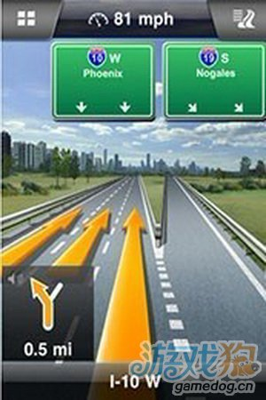 "Navigon新增包含""谷歌街景地图""内若干功能1"
