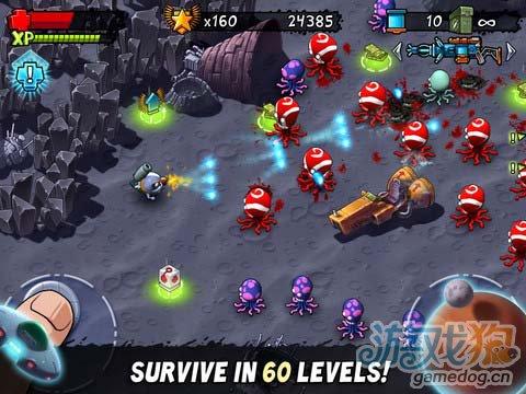 iOS限免游戏推荐 怪兽射击:失落破坏 射击卡通风2