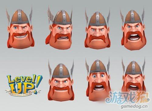 3D卡通渲染RPG遊戲:Level Up! 將於今夏發布2