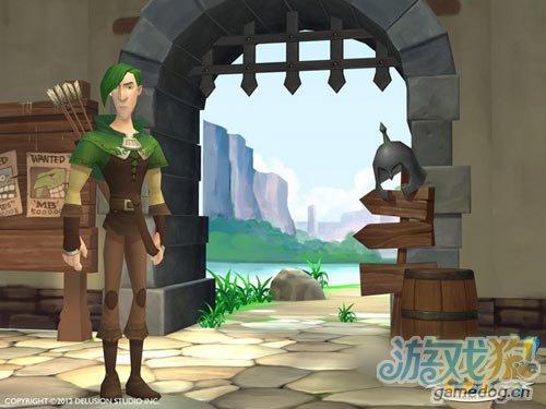 3D卡通渲染RPG遊戲:Level Up! 將於今夏發布5