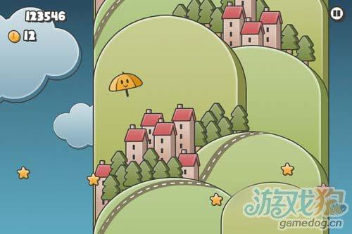 休闲游戏:小雨伞,大冒险 plic plic 将要发布2