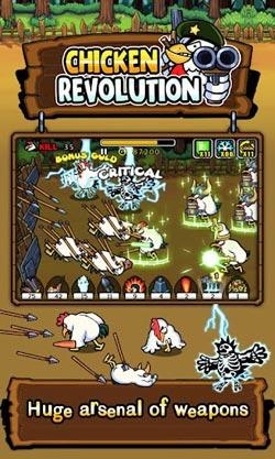 疯狂公鸡保卫战Chicken Revolution评测4
