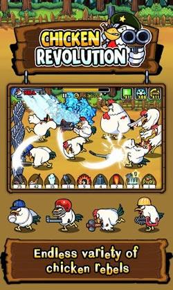 疯狂公鸡保卫战Chicken Revolution评测5