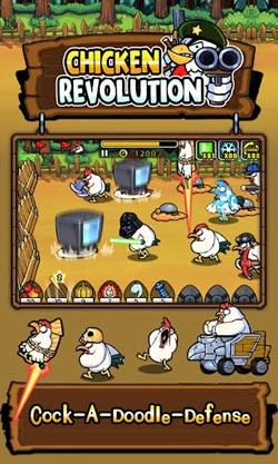 疯狂公鸡保卫战Chicken Revolution评测2