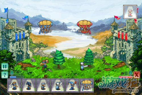 能联网对战的策略游戏:Castle Conflict 2 预览3