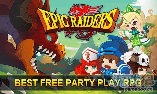 史诗战役Epic Raiders v1.0.1版 超萌Q版人物设计1