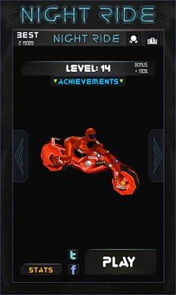 速游戏:午夜飚车 Night Ride v1.3.0版更新评测4