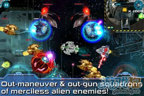 安卓射击游戏《星际闪电战》新版更新2