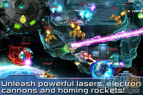 安卓射击游戏《星际闪电战》新版更新4