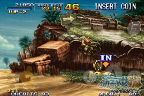 经典射击动作游戏;合金弹头3 v1.0版评测2