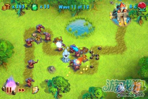动感战棋游戏《猎魔之塔》iPhone版推荐1
