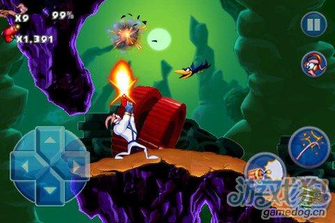 经典动作游戏:蚯蚓战士Earthworm Jim1