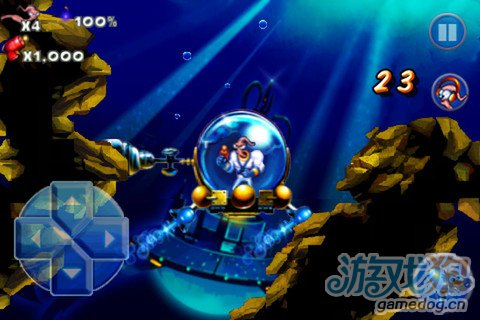 经典动作游戏:蚯蚓战士Earthworm Jim4