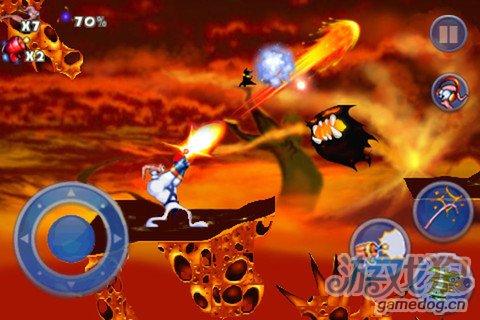 经典动作游戏:蚯蚓战士Earthworm Jim3