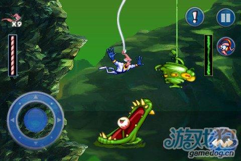 经典动作游戏:蚯蚓战士Earthworm Jim5