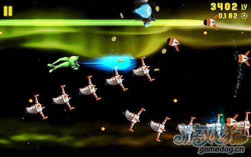 安卓飞行射击游戏:星系冲击 生存并不是那么容易2