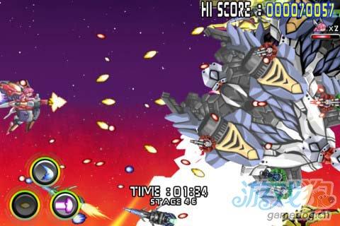华丽飞行射击 Android游戏《人形机体》3