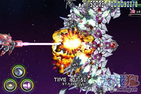 华丽飞行射击 Android游戏《人形机体》2